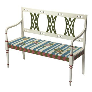 Butler Specialty Fawcett Alice in Wonderland Bench