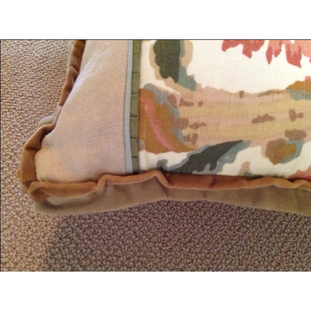 Custom Designed Lumbar Pillows - Pair - Image 5 of 8