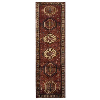 Vintage Persian Karaje Runner - 2.10 x 10.10 For Sale
