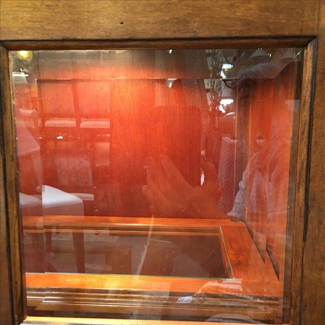 Henley Cherry Sliding Door Book Case - Image 7 of 11