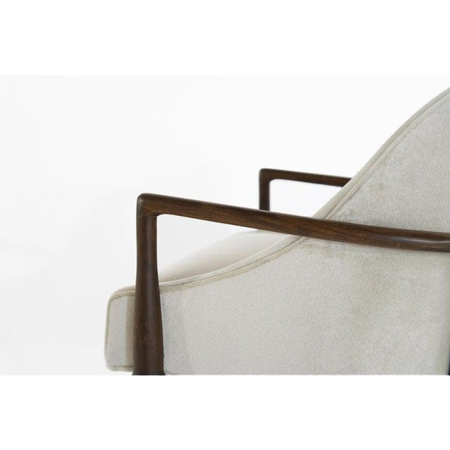 Mid-Century Modern Walnut Lounge Chairs - a Pair For Sale - Image 10 of 13