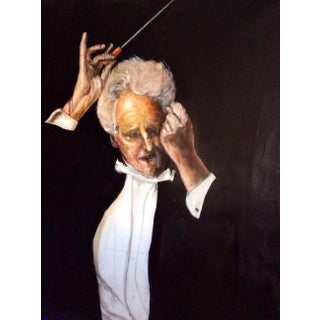 The Conductor Contemporary Painting For Sale
