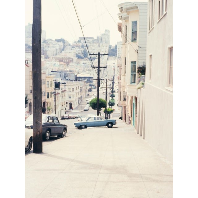 Vintage 1960s San Francisco Streets Photograph Print For Sale - Image 4 of 4