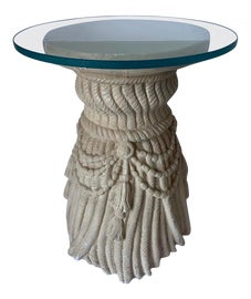 Image of Newly Made Plaster Side Tables
