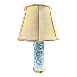 Waterford Crystal Column Table Lamp For Sale