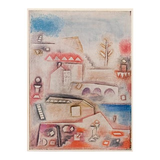 """1958 Paul Klee """"Place of Discovery"""", First English Edition Lithograph For Sale"""