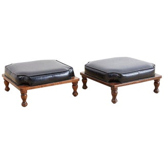 Midcentury Ricardo Lynn Stacking Footstools For Sale