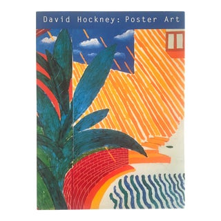 """David Hockney Poster Art"" 1st Edition Vintage 1995 Collector's Art Book For Sale"