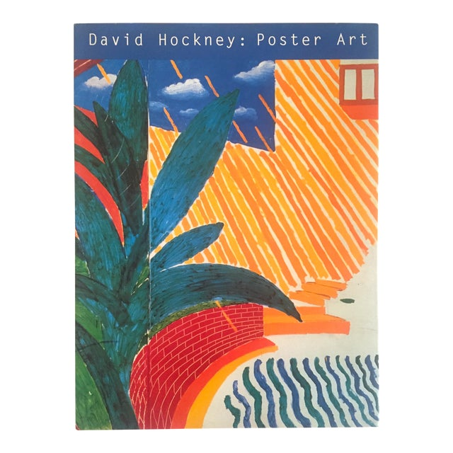 """David Hockney Poster Art"" 1st Edition Vintage 1995 Collector's Art Book - Image 1 of 11"