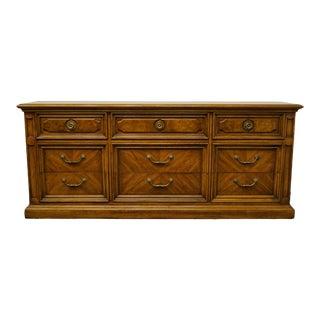 Thomasville Furniture Decorum Collection Triple Dresser For Sale