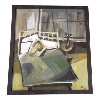 Original Modernist Abstract Painting