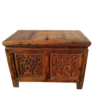 Carved Truck Accent Table For Sale