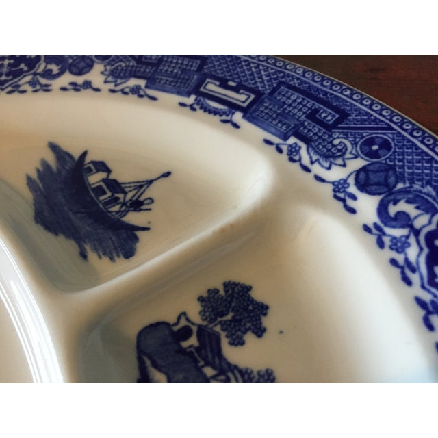 Blue Willow Restaurant Grill Plates - Set of 3 - Image 9 of 11