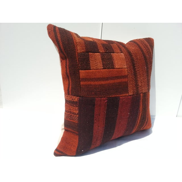Islamic Handwoven Turkish Pillow Cover For Sale - Image 3 of 6