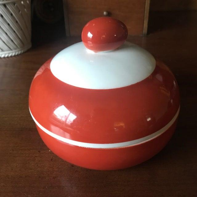 Ceramic Antique Beyer Bock German Sienna Ceramic Serving Dish For Sale - Image 7 of 11