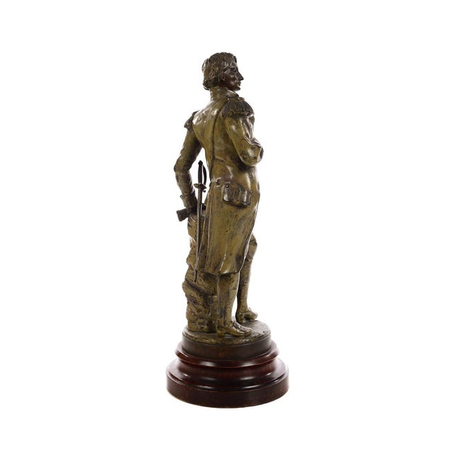 Metal 19th century Admiral Lord Nelson Metal sculpture For Sale - Image 7 of 9