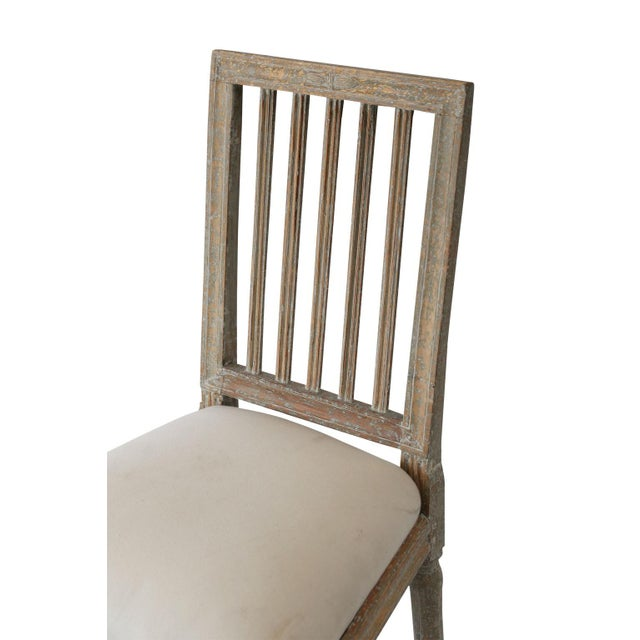 Six Swedish Dining Chairs For Sale In Houston - Image 6 of 11