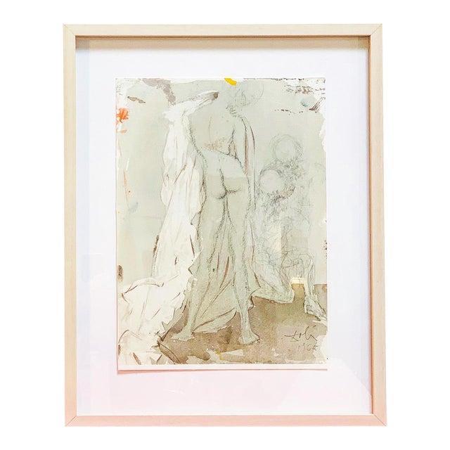 Rare Abstract Susannae Pulchritudo Print by Salvador Dali For Sale