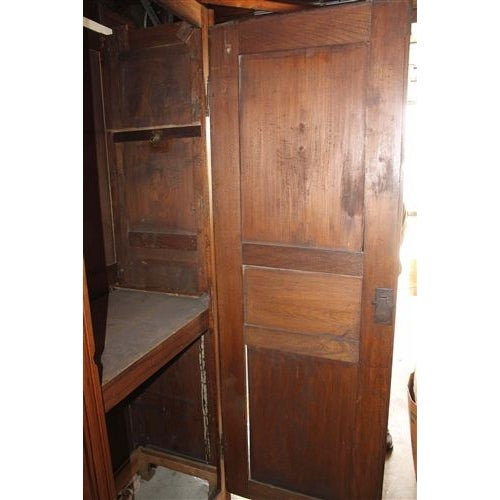 18th Century French Oak Armoire For Sale In Los Angeles - Image 6 of 6