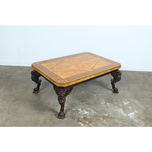 Baker Burlwood Coffee Table - Image 10 of 11