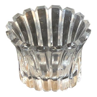 Orrefors Glass Flower Vase For Sale