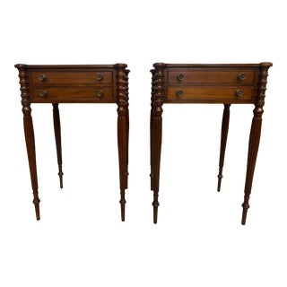 1930s Sheraton Side Tables - a Pair For Sale