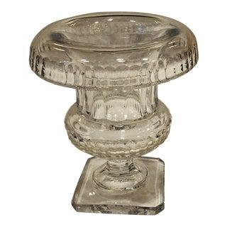 Van San Lambert Crystal Vase For Sale