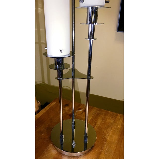 Lite Source Credence 3-Light Chrome Table Lamp - Image 5 of 6