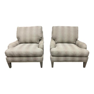 Lee Industries h.d. Buttercup Chairs - a Pair For Sale