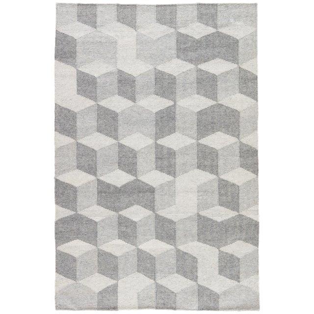 Jaipur Living Vista Indoor/ Outdoor Geometric Gray Area Rug - 8′ × 10′ For Sale In Atlanta - Image 6 of 6