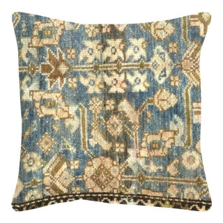 """1940s Persian Melayer Pillow 18"""" X 18"""" For Sale"""