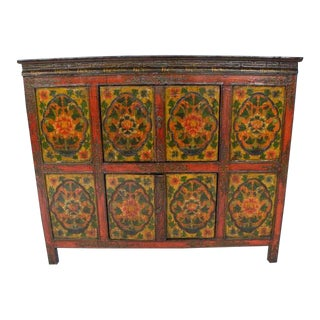 Late 19th Century Tibetan Chest For Sale