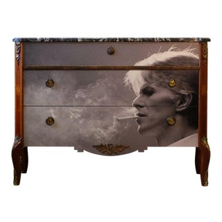 David Bowie Antique Bureau (DaVinci Collection) For Sale