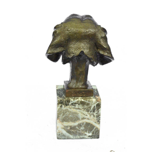 Dachshund Bust Bronze Sculpture - Image 2 of 10