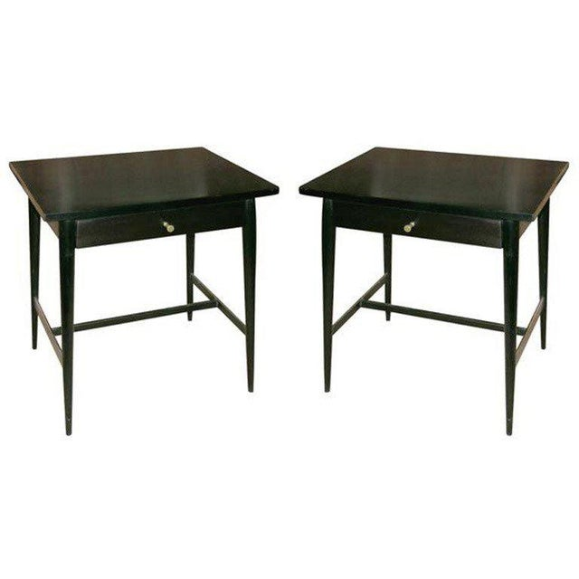 M/n originals custom ordered nighstands. Solid maple construction finished in a black lacquer piano finish or customer...