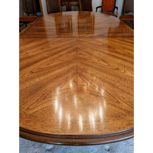 1970s 1970s Traditional Hibriten Dining Room Set For Sale - Image 5 of 9