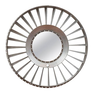 Titanium Jet Engine Mirror