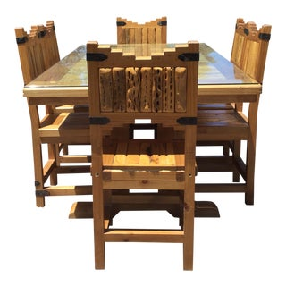 Southwest Custom Made Rustic Dining Set