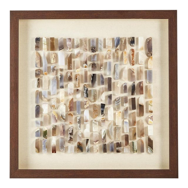 Toazi Home Agate Shadow Box For Sale