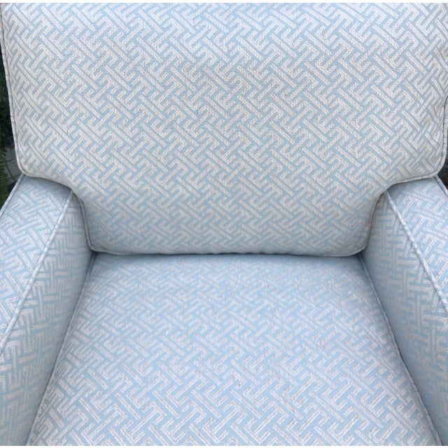 Art Deco Art Deco Fully Upholstered Designer Club Chair by A. Rudin For Sale - Image 3 of 7