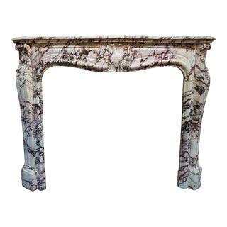 Louis XV Marble Mantel For Sale