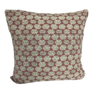 "Contemporary Thibaut Parada Print Pillow - 20"" X 20"" For Sale"