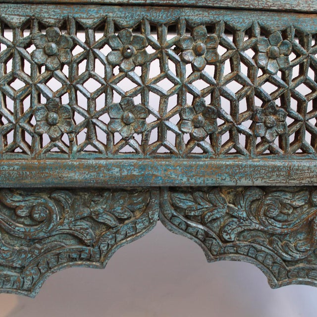 Architectural Carved Console Table - Image 6 of 6
