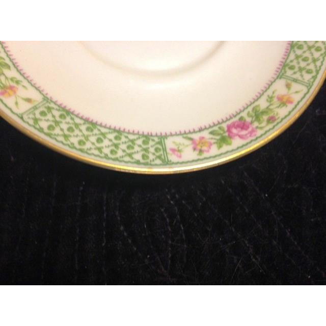 Vintage C. Ahrenfeldt Limoges France Depose Saucer - Image 3 of 6