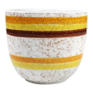 1970s Italian Ceramic Striped by Bitossi for Rosenthal For Sale
