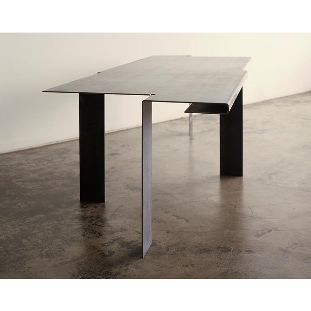 """Contemporary """"T-table"""" For Sale - Image 3 of 4"""