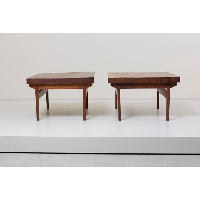 Pair of Signed Studio Craft End Tables, Guatemala, 1960s For Sale - Image 4 of 10