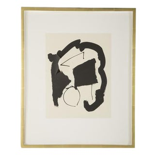 "Robert Motherwell ""Three Poems"" Lithograph For Sale"
