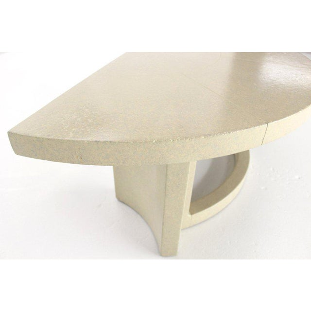 Mid 20th Century Mid-Century Modern Paul Frankl Demilune Console Table For Sale - Image 5 of 9