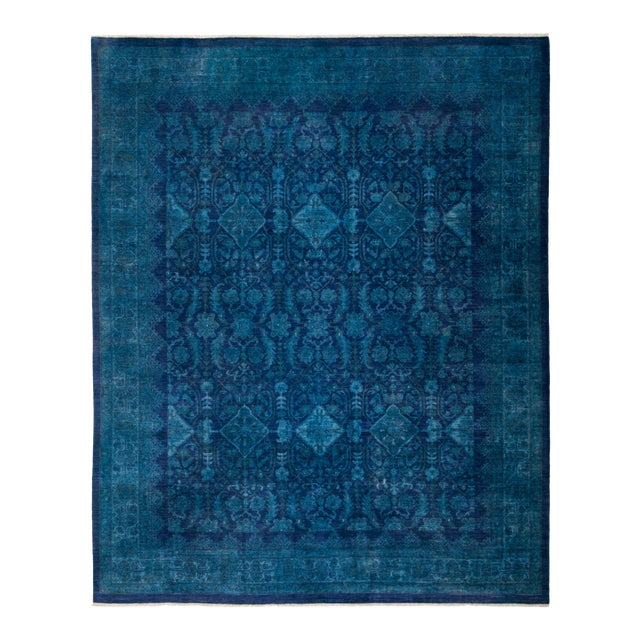 """Vibrance Hand Knotted Area Rug - 8' 0"""" X 9' 10"""" - Image 1 of 4"""